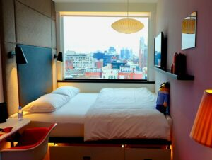 citizenM New York Bowery Hotel - Chambre