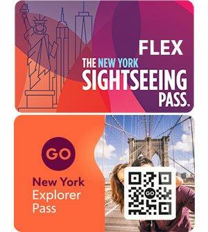 Difference entre New York Sightseeing Flex Pass et New York Explorer Pass