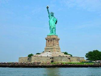Difference entre le New York Sightseeing Flex Pass et le New York Explorer Pass - Statue de la Liberté