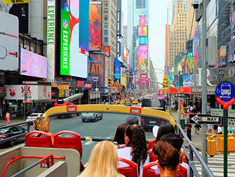 La différence entre le New York Sightseeing Day Pass et le New York Pass- Bus Hop on Hop off