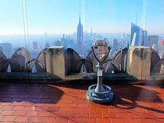 La différence entre le New York Sightseeing Day Pass et le New York Pass - Top of the Rock