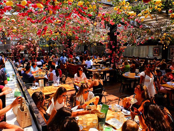 Restaurants in New York - Birreria Rooftop Terrace