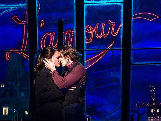 Billets pour Moulin Rouge! The Musical à Broadway - L'amour