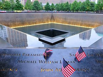 Visite guidée privée de New York avec guide en anglais - 9/11 Memorial