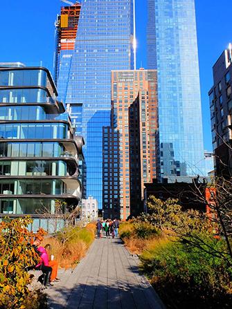 Visite guidée privée de New York avec guide en anglais - High-Line-Park