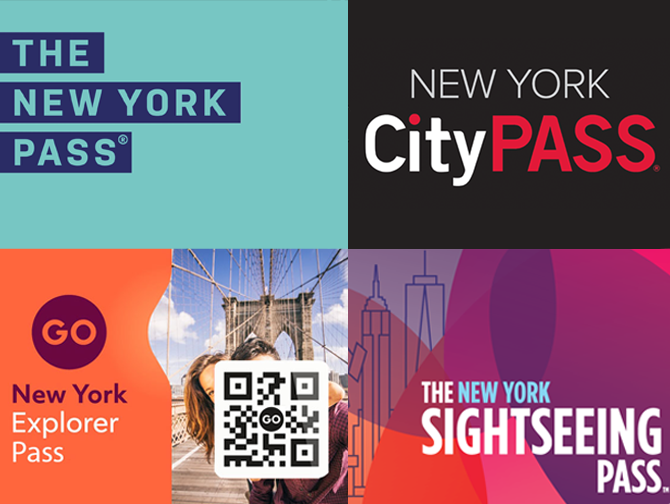 Voyage en groupe a New York - Pass