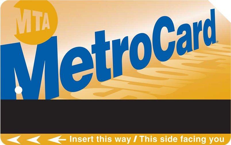 Voyage en groupe à New York - MetroCard