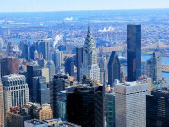 Chrysler Building a New York - Vue sur le Chrysler Building