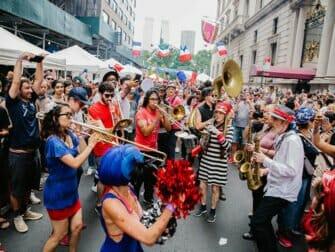 Bastille Day à New York - sur 60th street