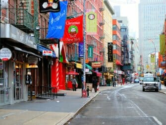 Visite guidée de New York avec guide français - Little Italy